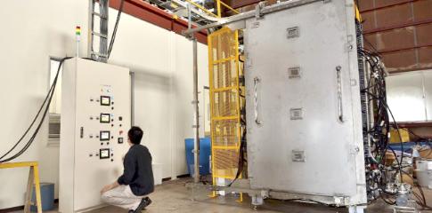 量産用CNF濃縮装置の写真