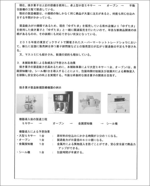 事業計画書類画像02