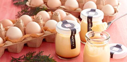 卵とプリン