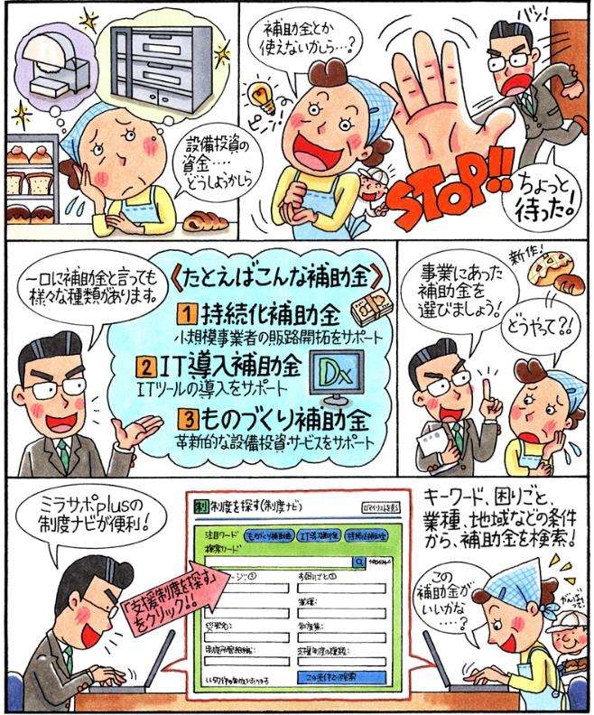 マンガでわかる「電子申請サポート」①